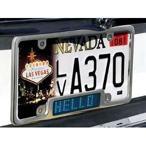 Programmable LED Car Plate Billboard  Blue LED