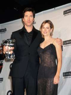 Actors Dylan Mcdermott and Holly Hunter at Gq Men of Year Awards