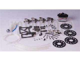 Front rear four wheel hydraulic brake system 1/5 scale BAJA HPI KM 5B