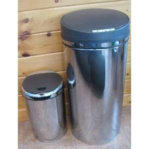 Tramontina 13 Gal Trash Bin Stainless Steel