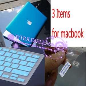 3I1 Rubberized Hard Case Cover f White MacBook 13 A1342