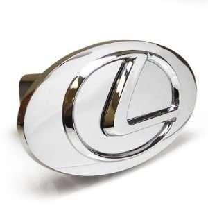 Lexus Chrome Logo Emblem Steel Tow Hitch Cover Automotive