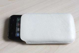 100% Genuine leather Case Pouch for SamSung Galaxy S2 i9100