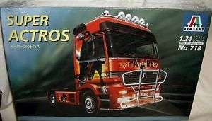 italeri 1/24 MERCEDES BENZ SUPER ACTROS CAB OVER TRUCK