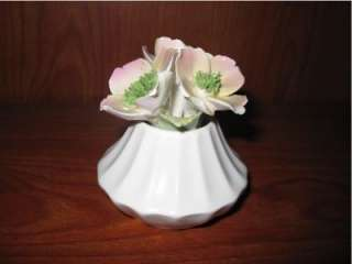 Radnor Bone China Flower Bouquet Floral Basket England
