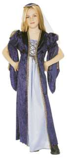 Child Large Girls Juliet Costume   Medieval and Renaiss