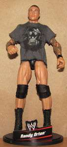 RANDY ORTON wwe MATTEL ELITE SERIES 2 FIGURE wwf lot