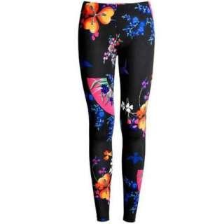 2012 Fashion Floral Prints stretch leggings pants tights Cotton