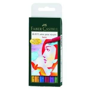 Faber Castell PITT Artist Brush Pen Set  Primary Colors