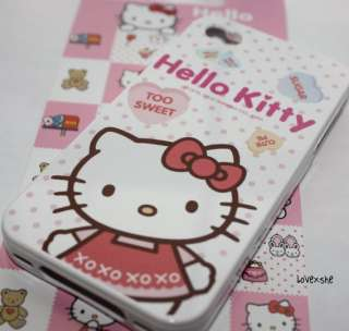 AUTHENTIC SANRIO HELLO KITTY SOFT SILICONE RUBBER CASE COVER for