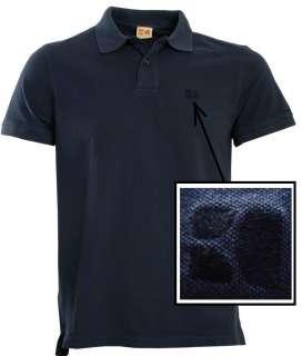 Hugo Boss Orange Cotton piqué polo shirt Pascii in Navy