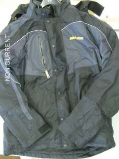 SKI DOO MENS 3 IN 1 PROMO JACKET NEW GREY 440541