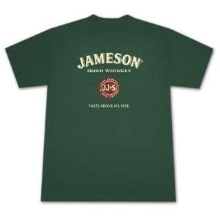 Jameson Irish Whiskey Seal Green Graphic Tee Shirt
