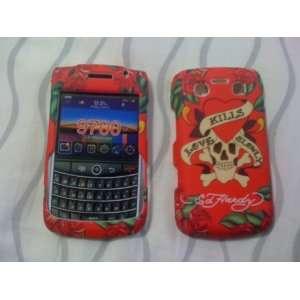 Blackberry Bold 9700 Ed Hardy Case Love Kills Slowly Full Case .Front