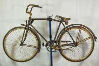 Vintage Camelback style 28 wooden wheels bicycle mystery bike