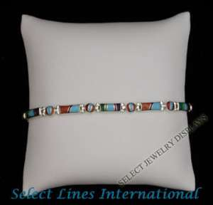 NEW White Leather Bracelet Watch Pillow Jewelry Display