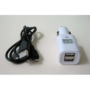 Kindle Fire Duo USB Car Charger Powering Tablet PCs and