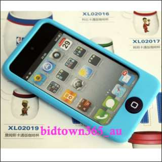 Pieces X Soft Gel Silicone Skin Case Cover for Apple iPod touch 4 4G