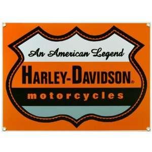 Harley Davidson® American Legend Porcelain Sign