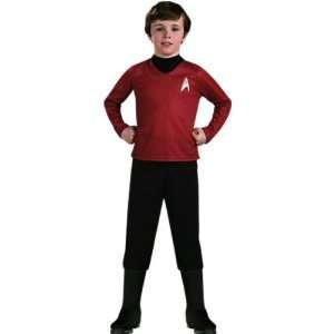 STAR TREK Child Deluxe Red Shirt   Boys Large, 8 10 years