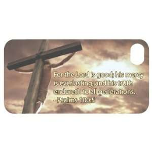 Bible Verse Pslam 100 5 Christian Themed   WHITE Protective iPhone