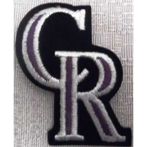 MLB Colorado Rockies Logo Emblem Embroidered PATCH