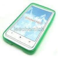10in1 TPU Silicone Gel Case Cover Film F HTC HD7 HD 7