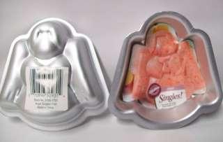 NEW Wilton Mini ANGEL Singles Cake Pan Molds 2