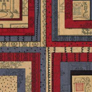 TOWNE SQUARE by Moda JELLY ROLL quilt fabric #6020JR