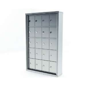 20 Door MINI Storage Cabinet   5h X 4w A size doors. SURFACE MOUNT