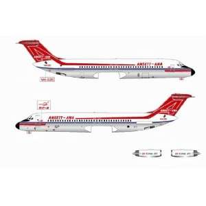 Jet X Ansett ANA DC 9 30 Model Airplane