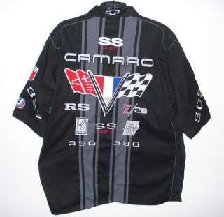 NASCAR GM Chevrolet Camaro Racing PIT CREW SHIRT XXL