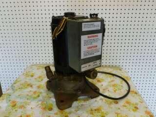 Dental Vacuum Pump 120V / 240V (2HP) Magnetek Motor