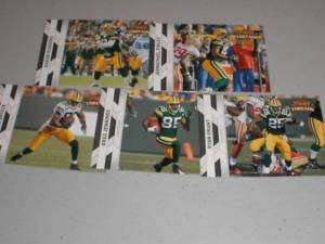 2010 Panini Threads Green Bay Packers Team Set (5)