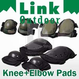 Swat Tactical Knee & Elbow Pads Paintball Airsoft DH027