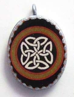 Artisan Celtic Irish Manx Britain Pendant Knot Cross