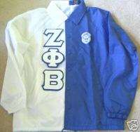 TWO TONE Zeta Phi Beta Crossing Jacket   you design