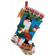 Bucilla Pirate Santa Felt Stocking Kit