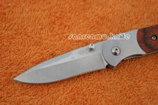 SANRENMU SRM High Quality Steel Folding Knife PR 708