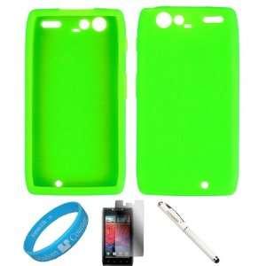 Silicone Protective Skin Back Cover Case For Verizon Motorola Droid