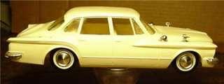 Vintage 1960 Plymouth Valiant Promo / Model Kit Car   No Res.