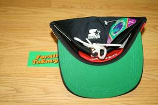 Vintage Starter logo tie back hat NWT 90s Fresh Prince