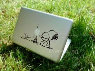 Snoopie MacBook Air/Pro Stickers Laptop Apple Vinyl Decal Humor art