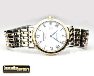 Classic Raymond Weil Two Tone Stainless Steel Mens Womens Watch Unisex