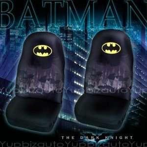 Batman Seat Covers Set 2 front Automotive