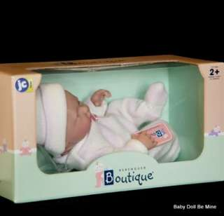 2011 Berenguer Lil Fussy 9.5 Mini La Newborn Real Girl