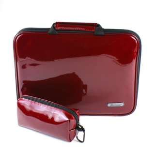 10 LAPTOP IPAD TABLET CASE BAG POUCH SLEEVE RED EWE