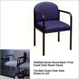 Sheffield Series Full Back Four Post Guest Chair