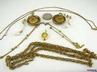 COSTUME JEWELRY LOT Vintage Necklaces Earrings Pendant