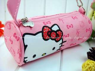 HelloKitty Make up Comestic Pencil Bag Case pink 21347